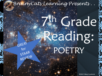 STAAR 7th Grade Reading Review: Poetry