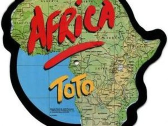 Toto's Africa Powerpoint and worksheet - GCSE Music Eduqas