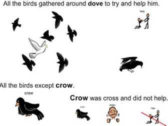 How the birds got their colours - An Aboriginal Dreaming Story