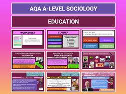 Education - AQA A-level Sociology - Entire Unit
