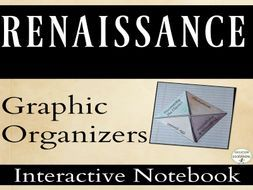 Renaissance Interactive Notebook Pages Graphic Organizers for Renaissance