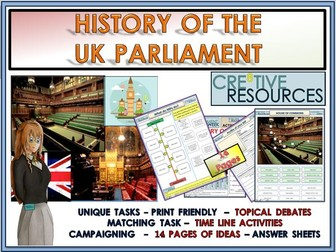 History of UK Parliament + General Election 2019