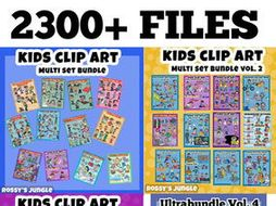 2300 files Ultrabundle Collection Volumes 1-4