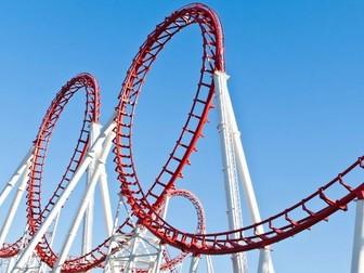 KWL Grid for Rollercoaster/ Scream Machine topic  (AfL)