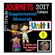 Journeys 2017 5th Grade Unit 1 Supplemental Materials