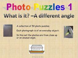 Photo puzzles 1: Close up