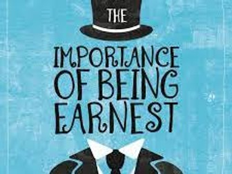 """""""The Importance of Being Earnest"""" (Oscar Wilde) - Humour as Social Criticism"""