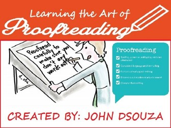 PROOFREADING LESSON AND RESOURCES