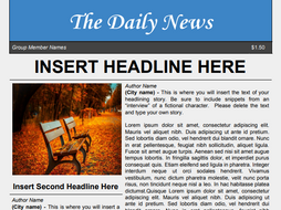 Newspaper template for google docs by ltgunkel teaching resources newspaper template for google docs maxwellsz