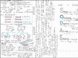 AQA A level Biology all Unit 1 notes by izzylouise