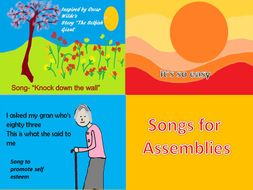 Songs for Assemblies .   Video. PPT. MP3s