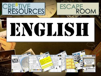 English Escape Room - End of Year