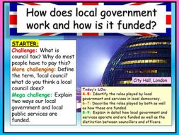 Local Government - AQA Citizenship