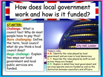 Local Government - AQA Citizenship