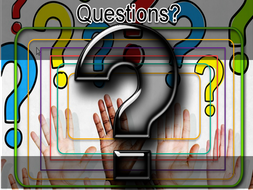 A set of 24 questions to cut out and give to students aged 5 - 15 for Tutor time or English