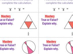 Year 3 and 4 Maths Mastery Stickers - ideal for challenges and next step marking