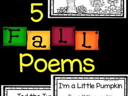 5 Fall Poems for Kids