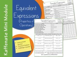 Equivalent Expressions: Properties of Operations (Mini Module)