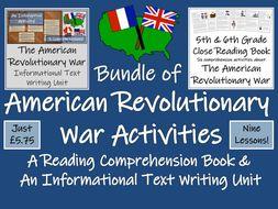 UKS2 History - Mega Bundle of American Revolutionary War Resources
