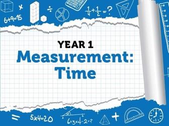 Year 1 - Measurement - Time - Week 10  - Summer - Block 6 - White Rose