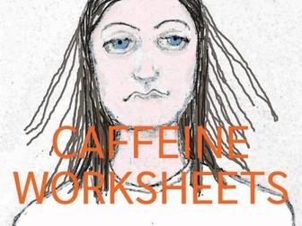 Caffeine Worksheets (US)