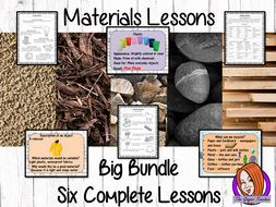 Materials Big Lesson Bundle – Primary Science STEAM Lessons