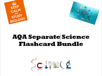 AQA Separate Science flashcards