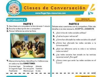 Medios de comunicación social - Spanish Speaking Activity