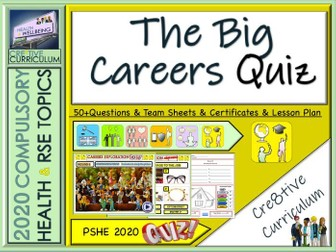 End of Year Careers Quiz