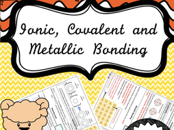 Ionic, Covalent and Metallic Bonding