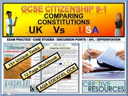 Comparing Constitutions UK and USA CIT-C8-WB32