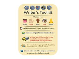 Writer's Toolkit Print-Out