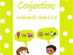 Conjunction worksheets for grade 10