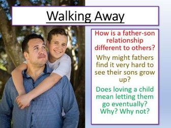Love and Relationships - Walking Away