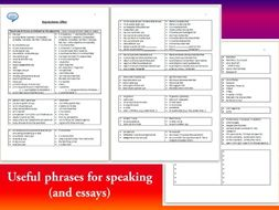Spanish term essay