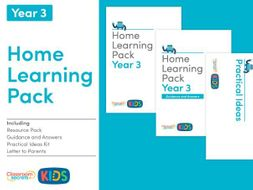 FREE Home Learning Pack for Year 3