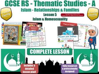 Homosexuality & Homophobia - Islamic & Muslim Views (GCSE RS - Islam -Relationships & Families) L5/7