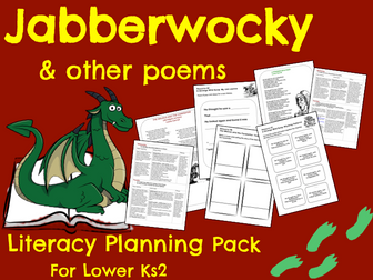 Jabberwocky Poetry Planning