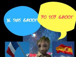 I am Groot Poster - French and Spanish