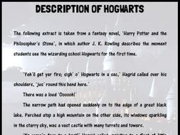 'Description of Hogwarts' extract