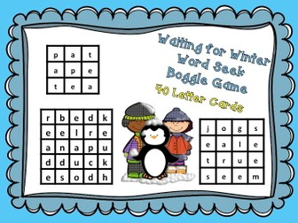 Boggle - Winter Word Search Game