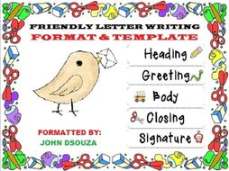 Friendly Informal Letter Format Handout By John421969 Teaching