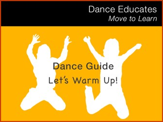 Let's Warm Up: A practical guide to warming up as part of your dance class
