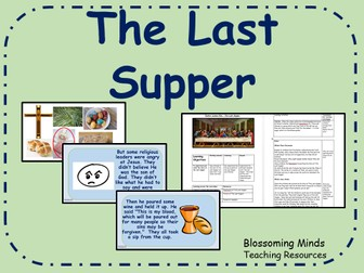 The Last Supper Lesson Plan