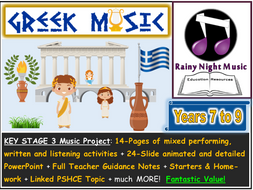 GREEK MUSIC Project 3 Hours of Content