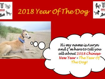 2018 Chinese New Year PowerPoint