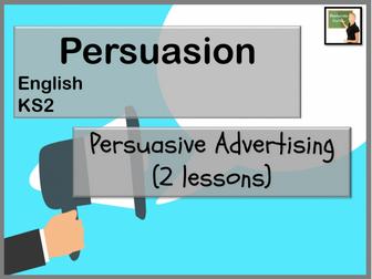 English- persuasive advertising KS2