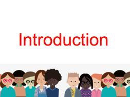 Induction - New School Year - College - Presentation