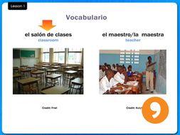 En la Escuela - In the School - Video Tutorial