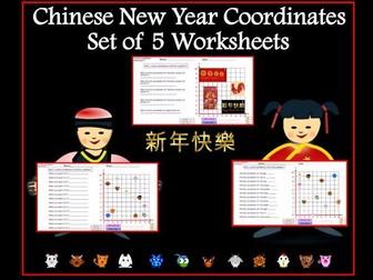 Chinese New Year Coordinates